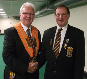 President, Bob Warters & Imm Past President Malcolm Squires